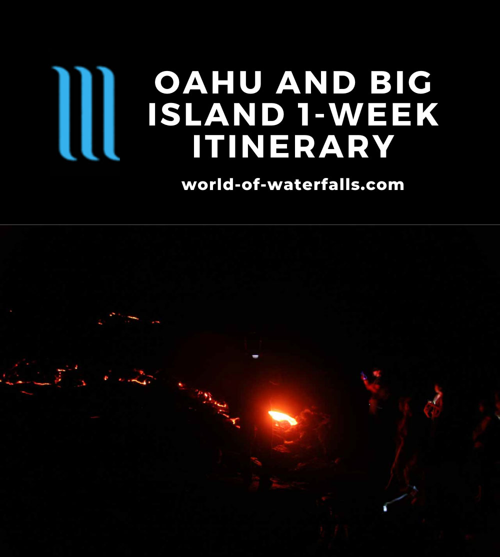 Oahu and Big Island 1-Week Itinerary