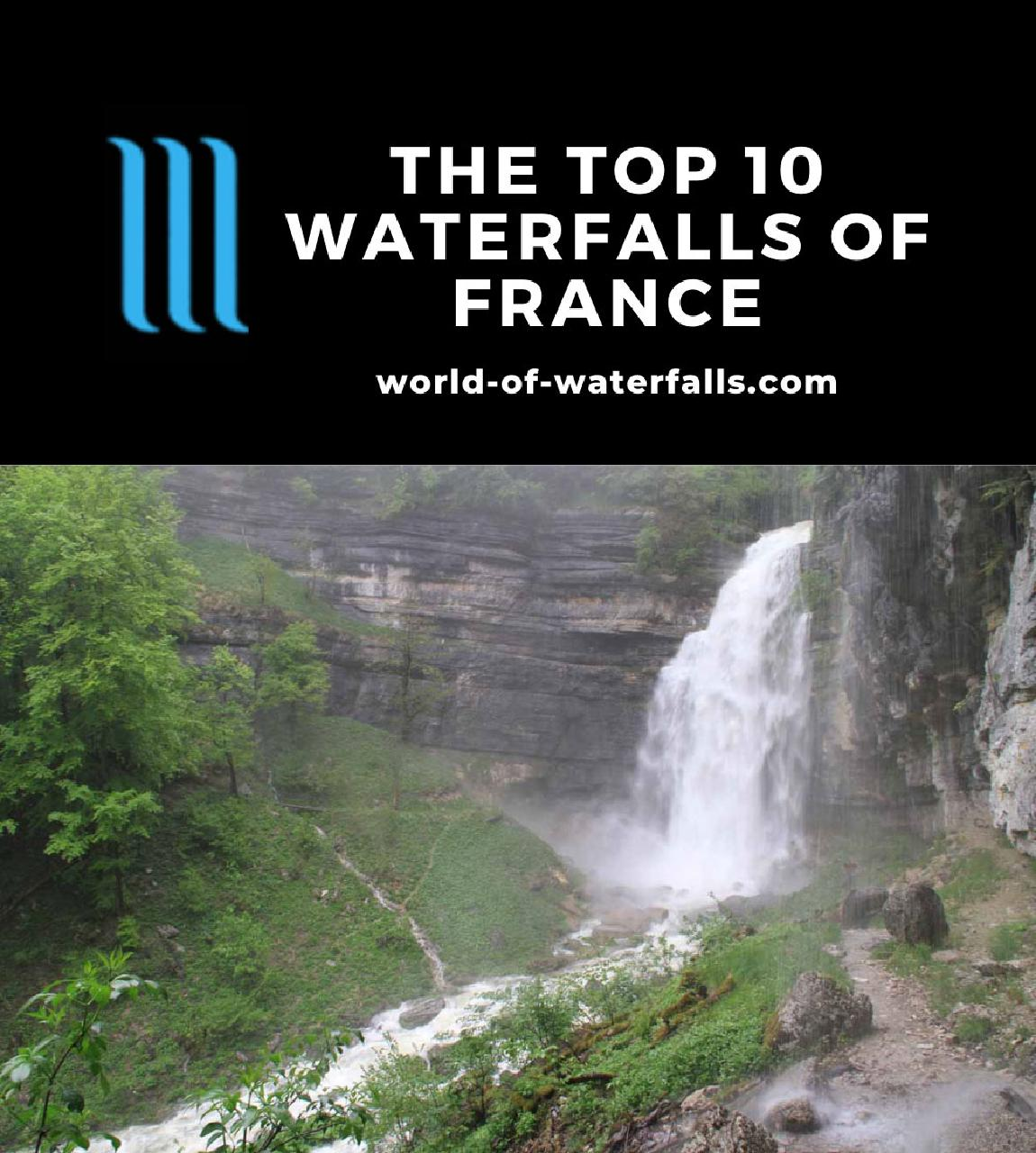 The Top 10 Waterfalls of France
