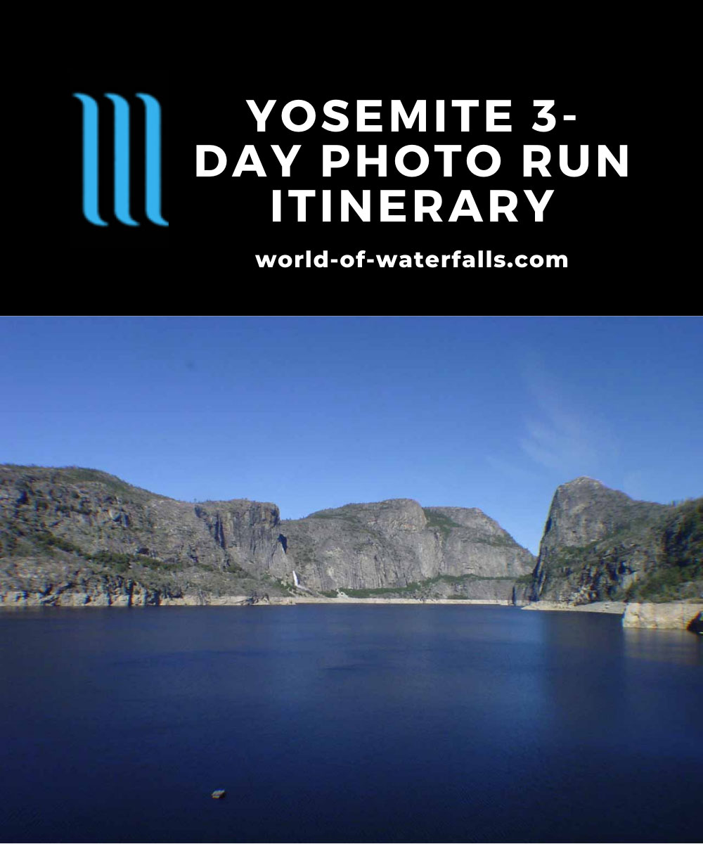 Yosemite 3-day Photo Run Itinerary
