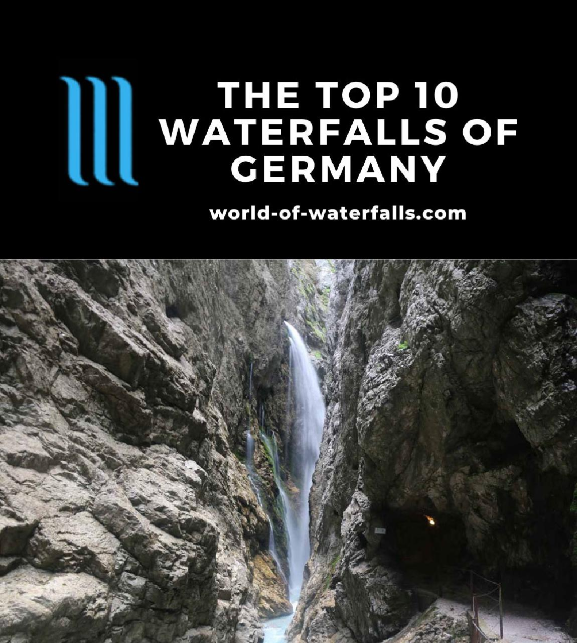 The Top 10 Waterfalls of Germany