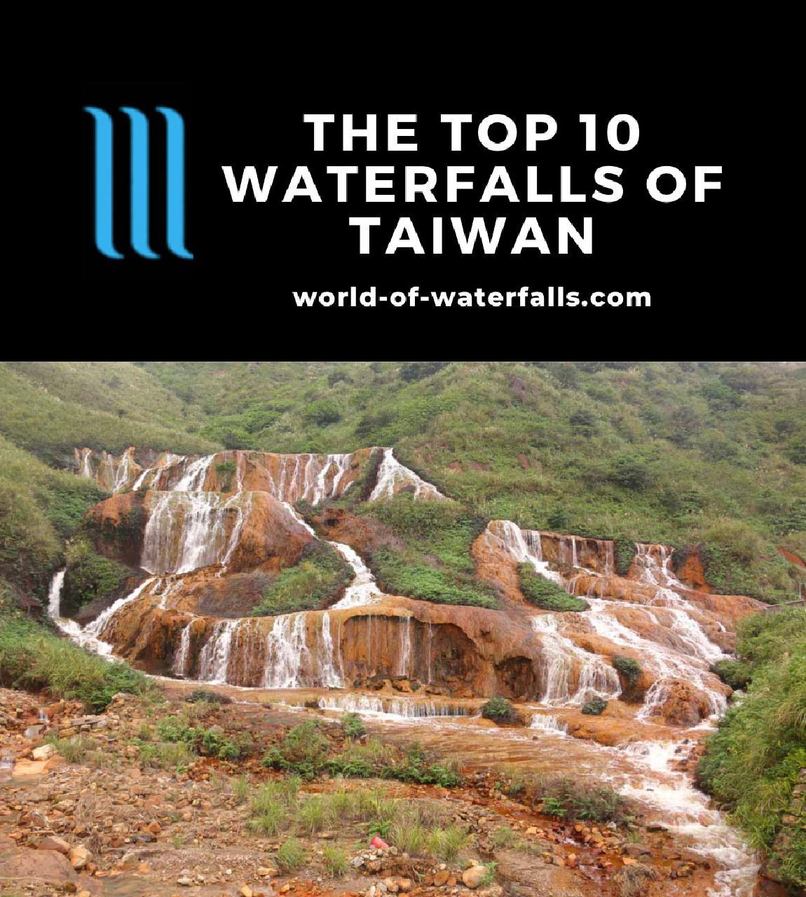 The Top 10 Waterfalls of Taiwan
