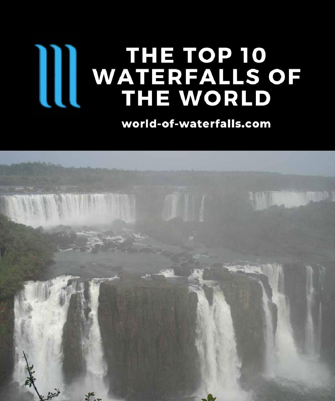 The Top 10 Waterfalls of the World