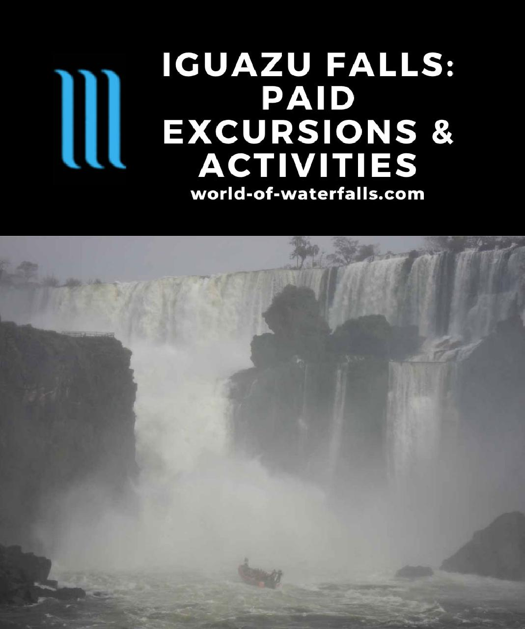 Iguazu Falls: Paid Excursions and Activities