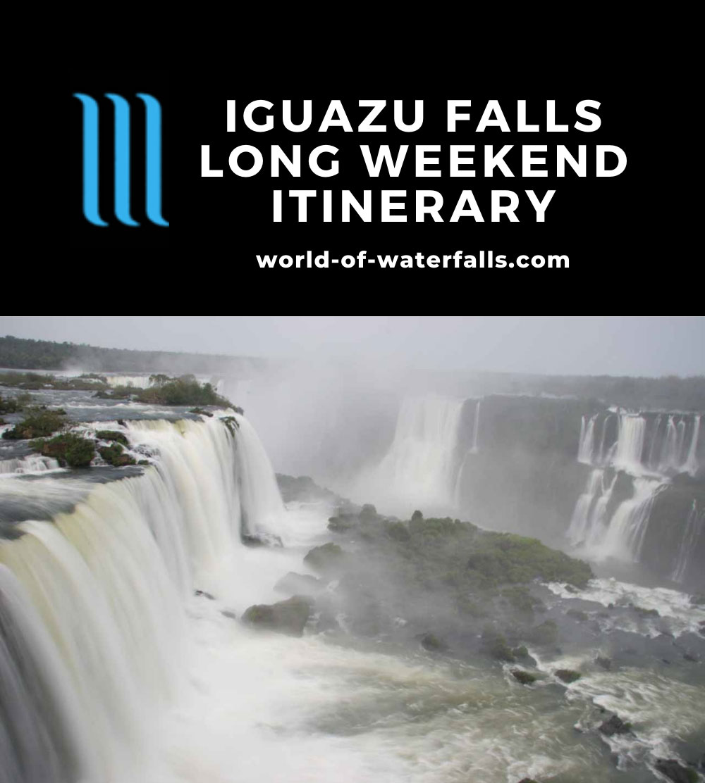 Iguazu Falls Long Weekend Itinerary