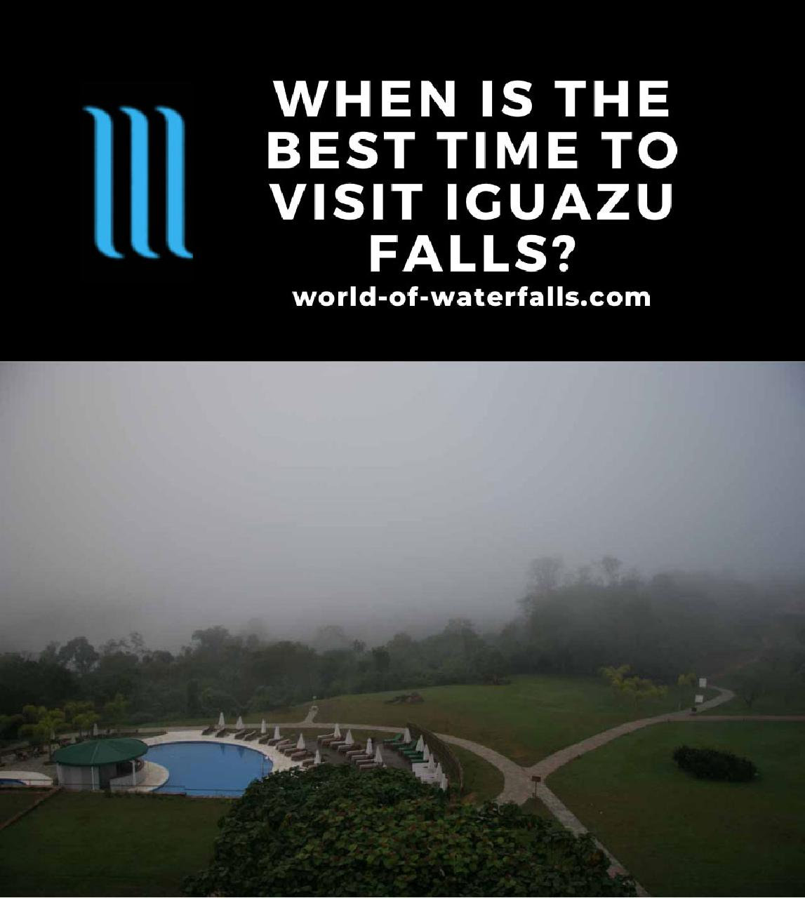 When is the Best Time to Visit Iguazu Falls?