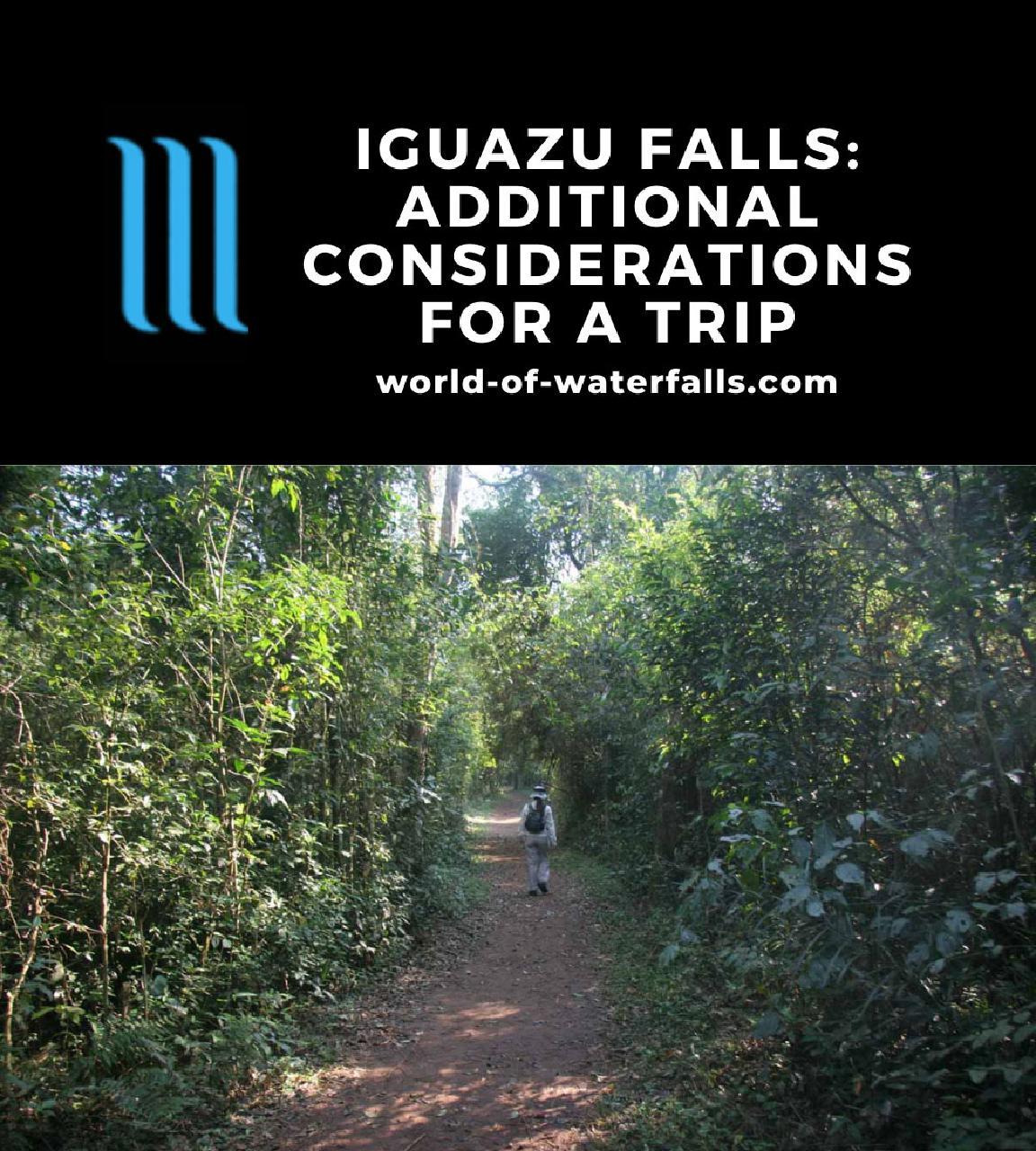 Iguazu Falls: Additional Considerations for a Trip