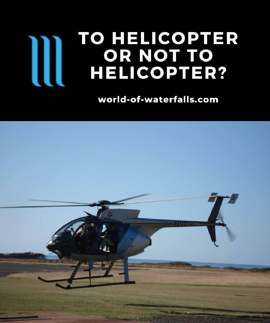 To Helicopter Or Not To Helicopter?
