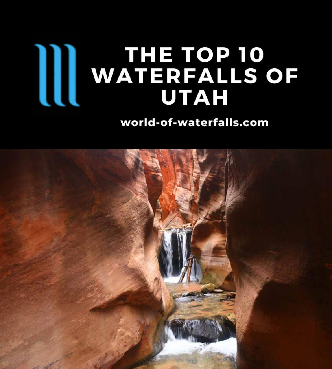 The Top 10 Waterfalls of Utah