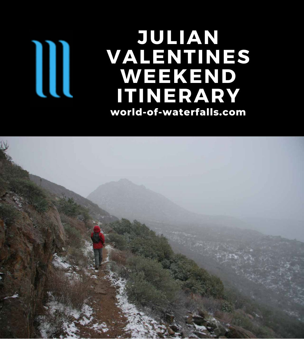 Julian Valentines Weekend Itinerary