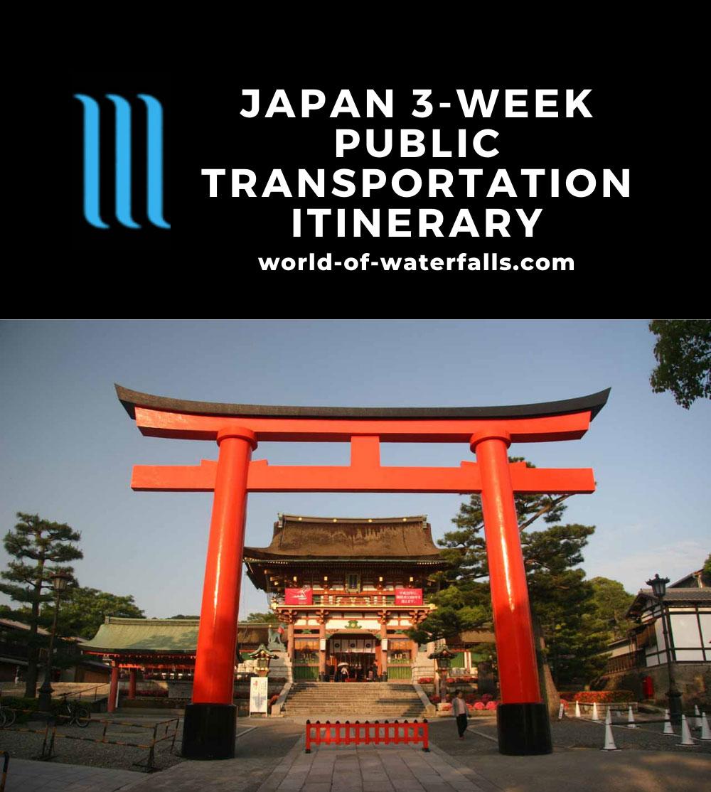 Japan 3-Week Public Transportation Itinerary