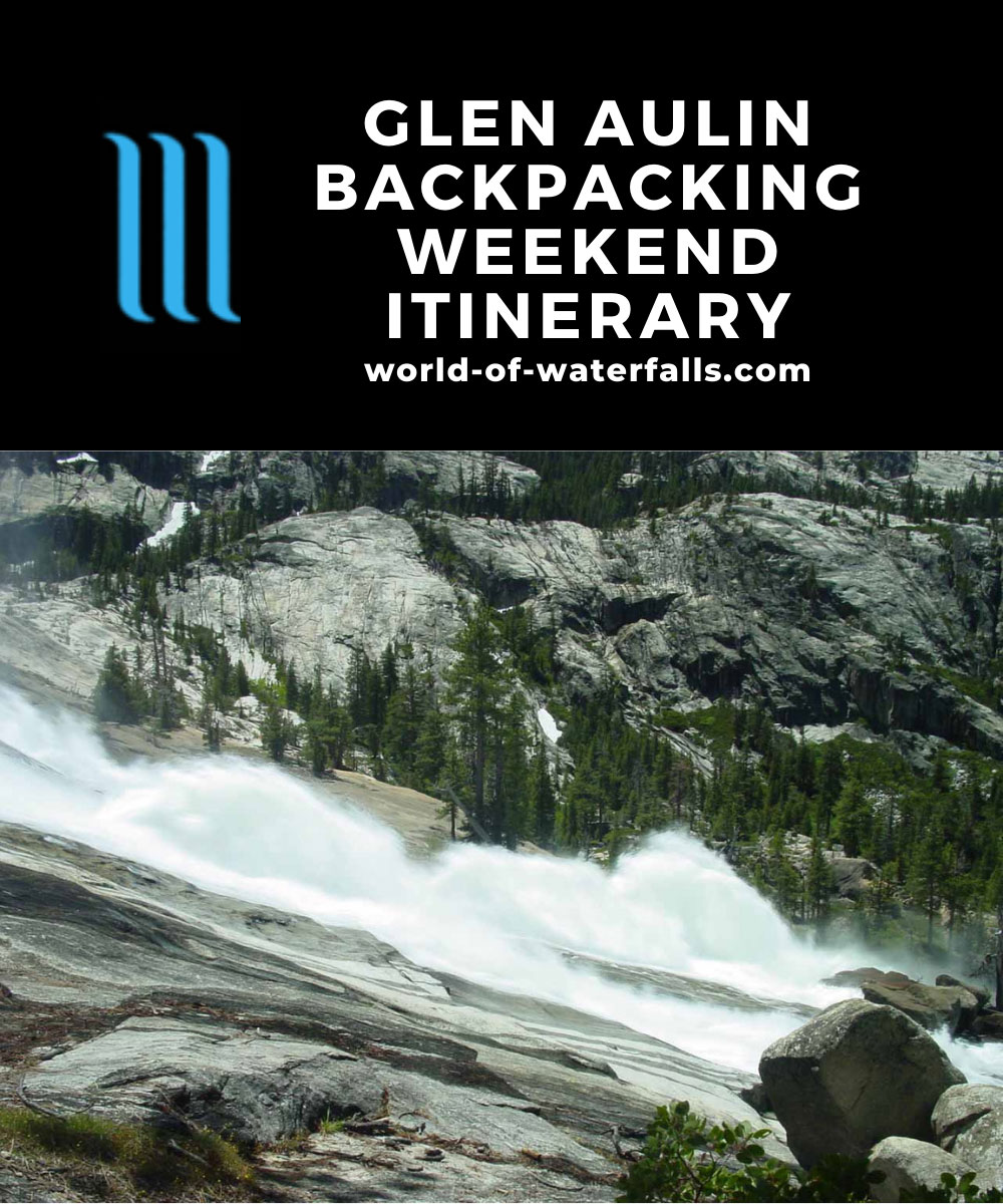 Glen Aulin Backpacking Weekend Itinerary