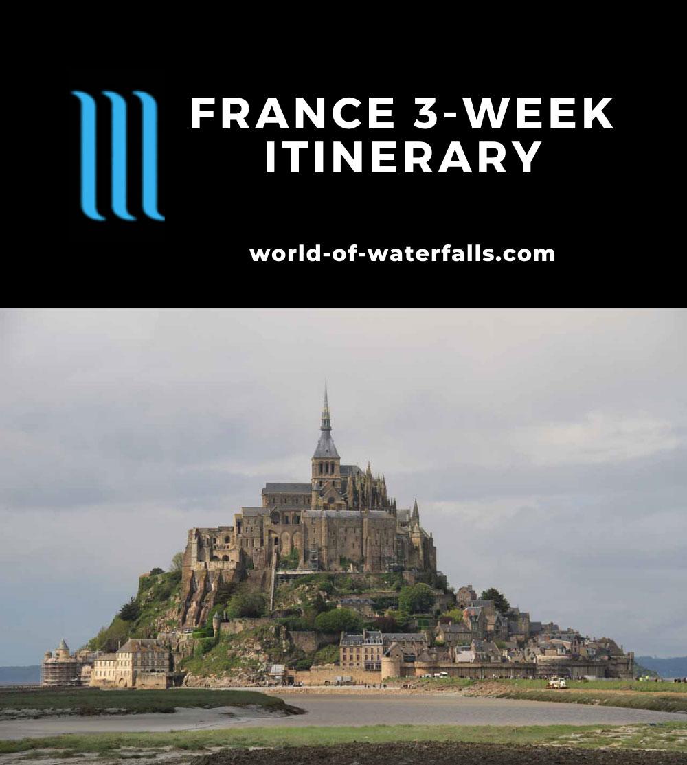 France 3-Week Itinerary