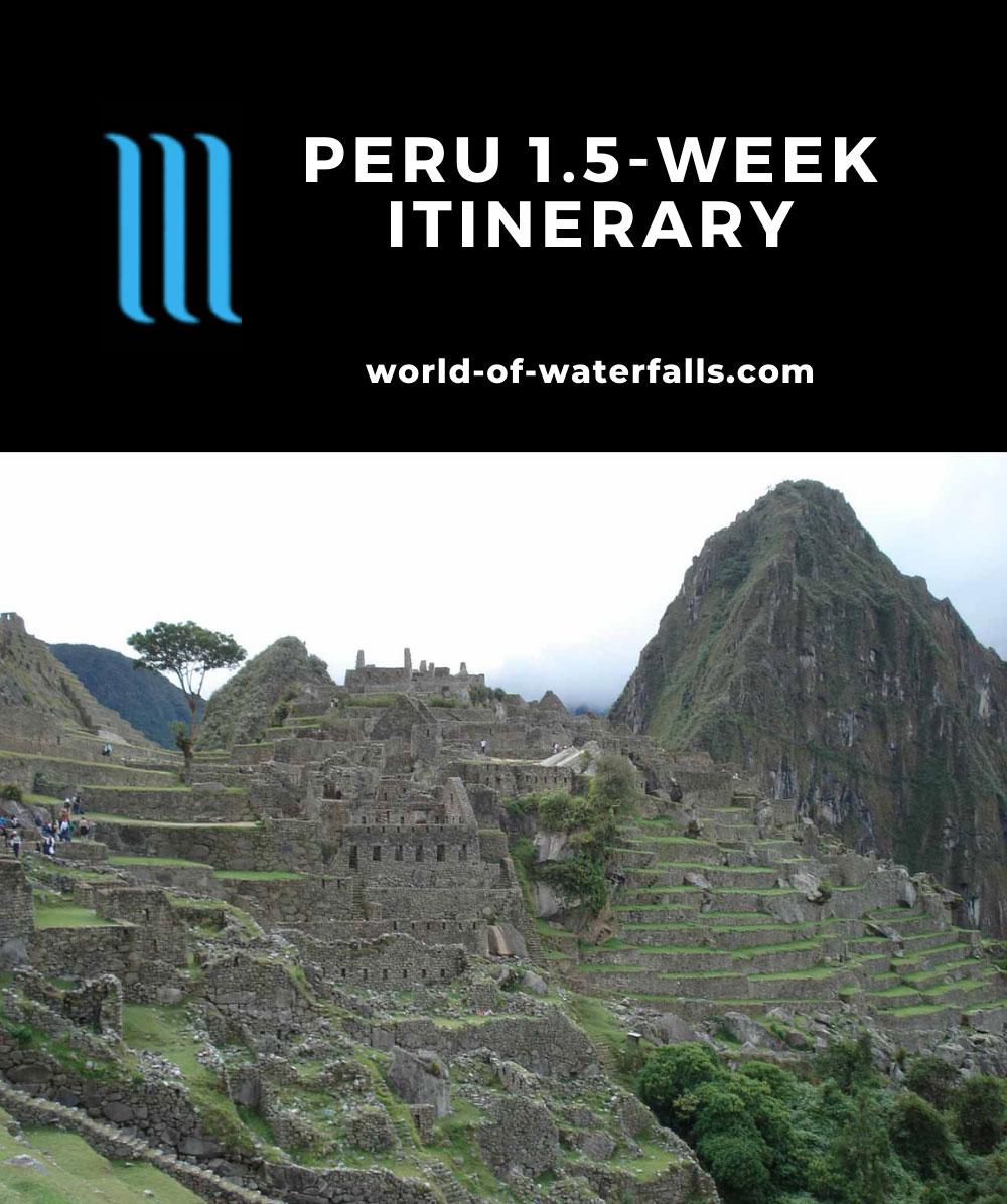 Peru 1.5-Week Itinerary