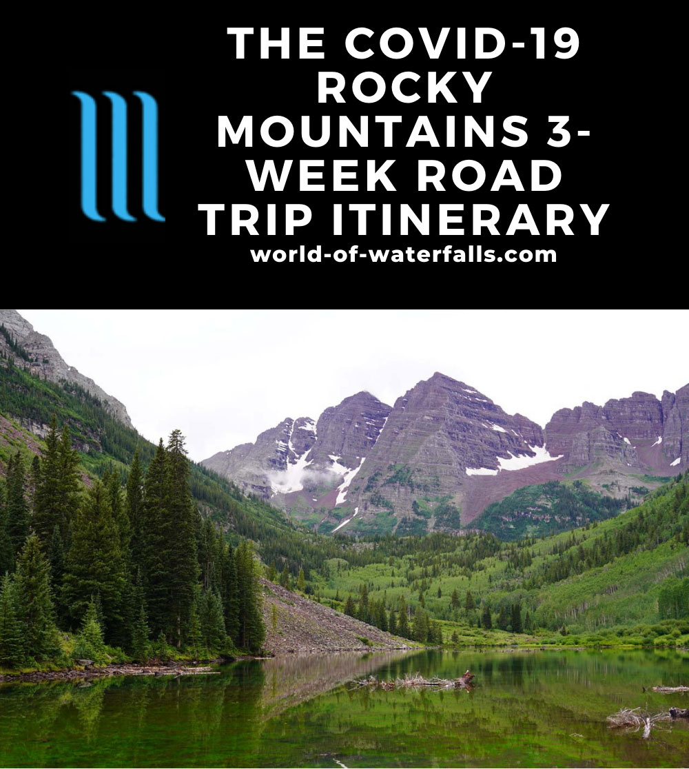 The COVID-19 Rocky Mountains 3-Week Road-Trip Itinerary