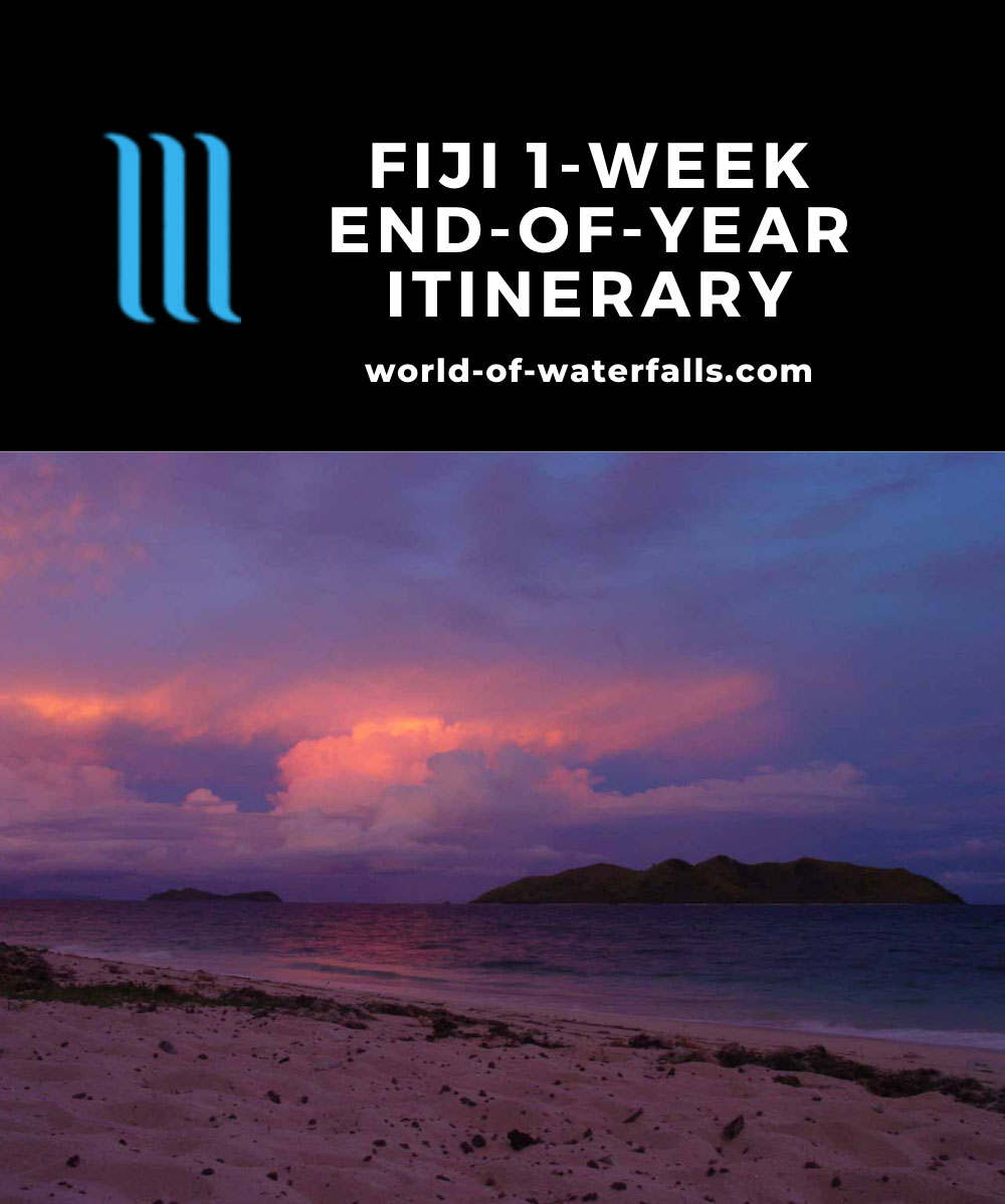 Fiji 1-Week End-of-Year Itinerary