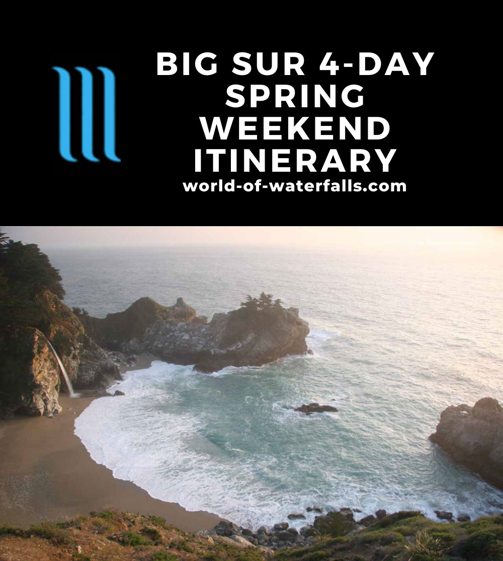 Big Sur 4-Day Spring Weekend Itinerary