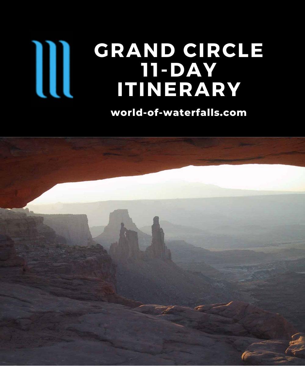 Grand Circle 11-day Itinerary