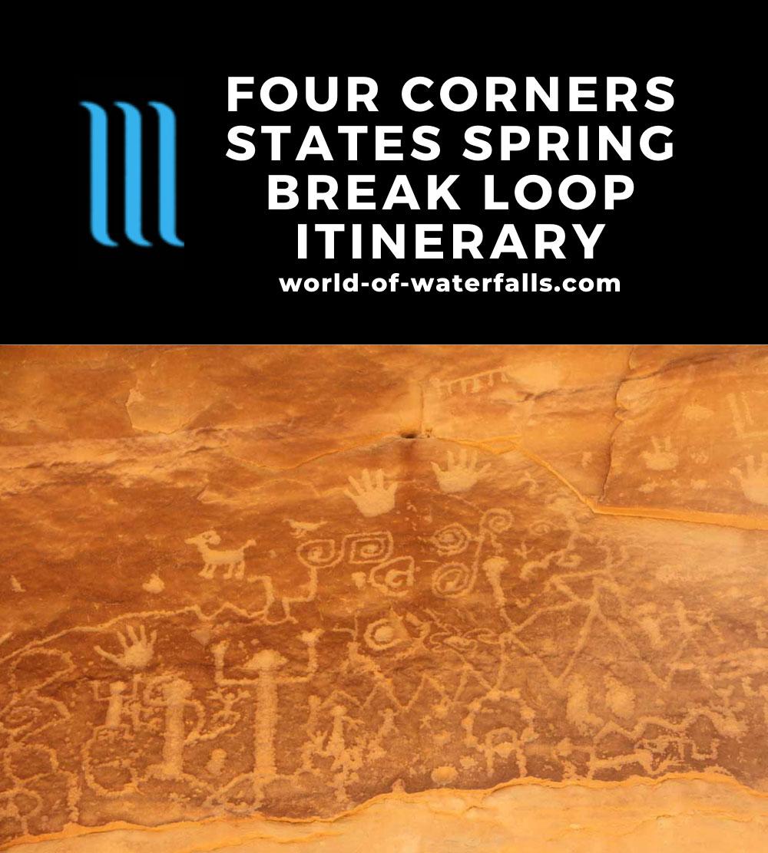 Four Corners States Spring Break Loop Itinerary