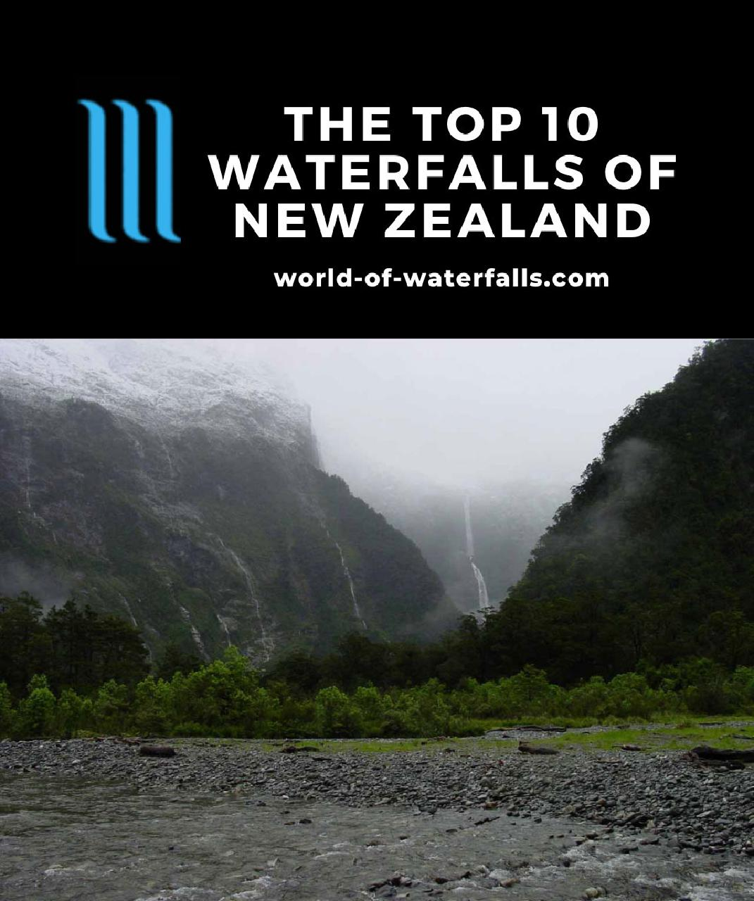 The Top 10 Waterfalls of New Zealand