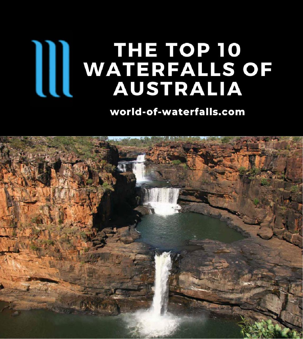 The Top 10 Waterfalls of Australia