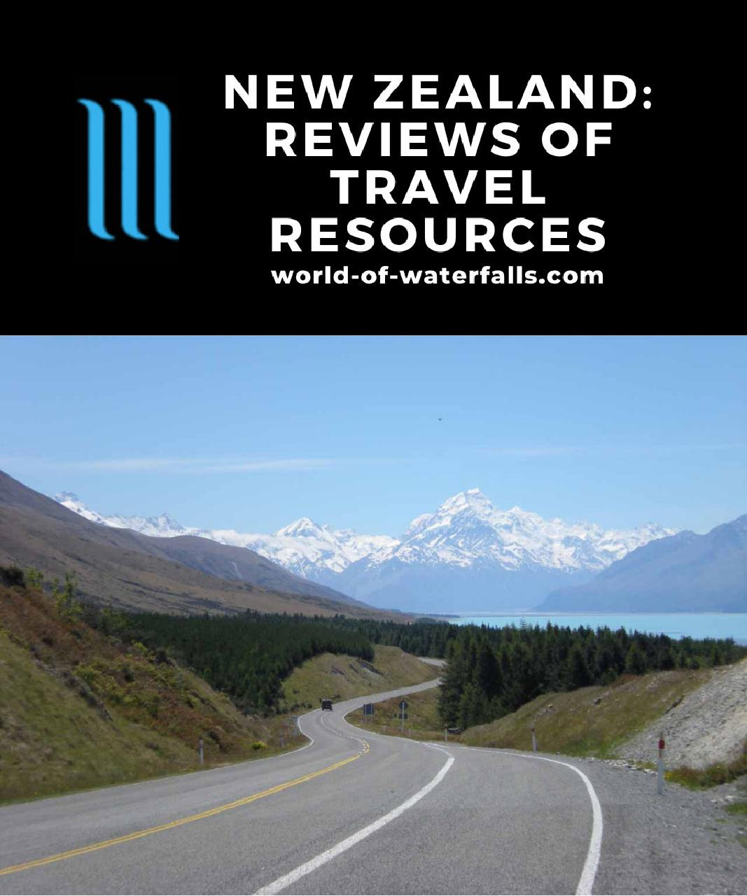 New Zealand: Reviews of Travel Resources