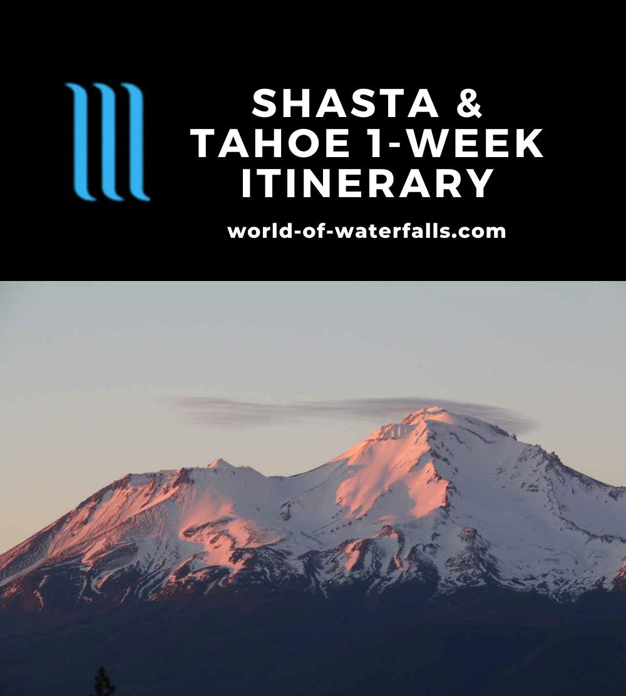Shasta and Tahoe 1-Week Itinerary