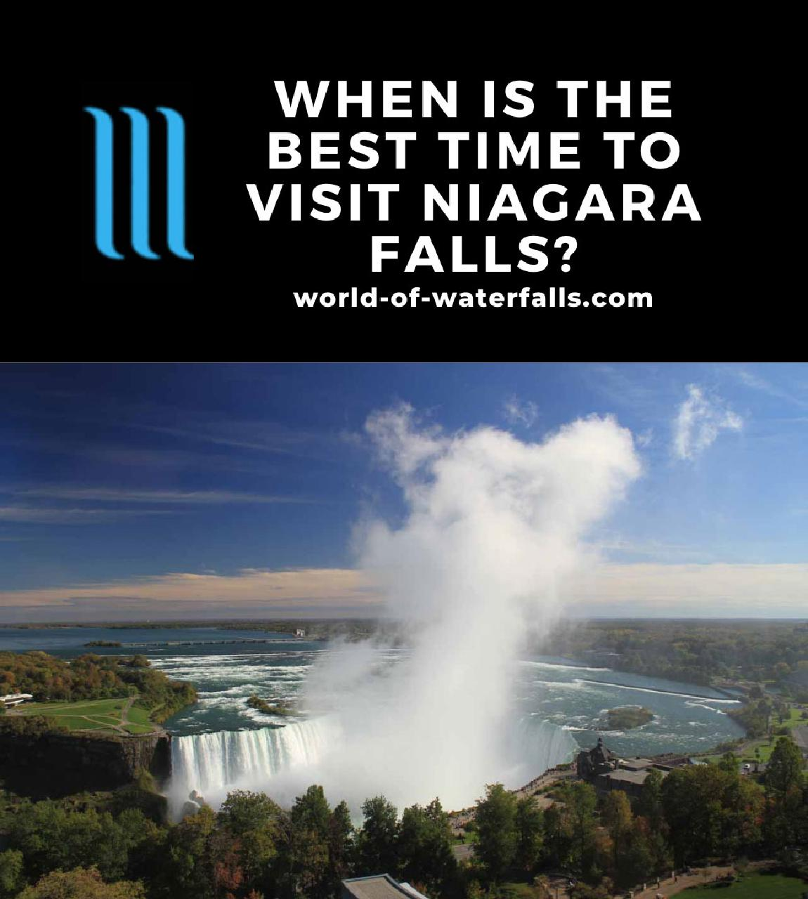 When is the Best Time to Visit Niagara Falls