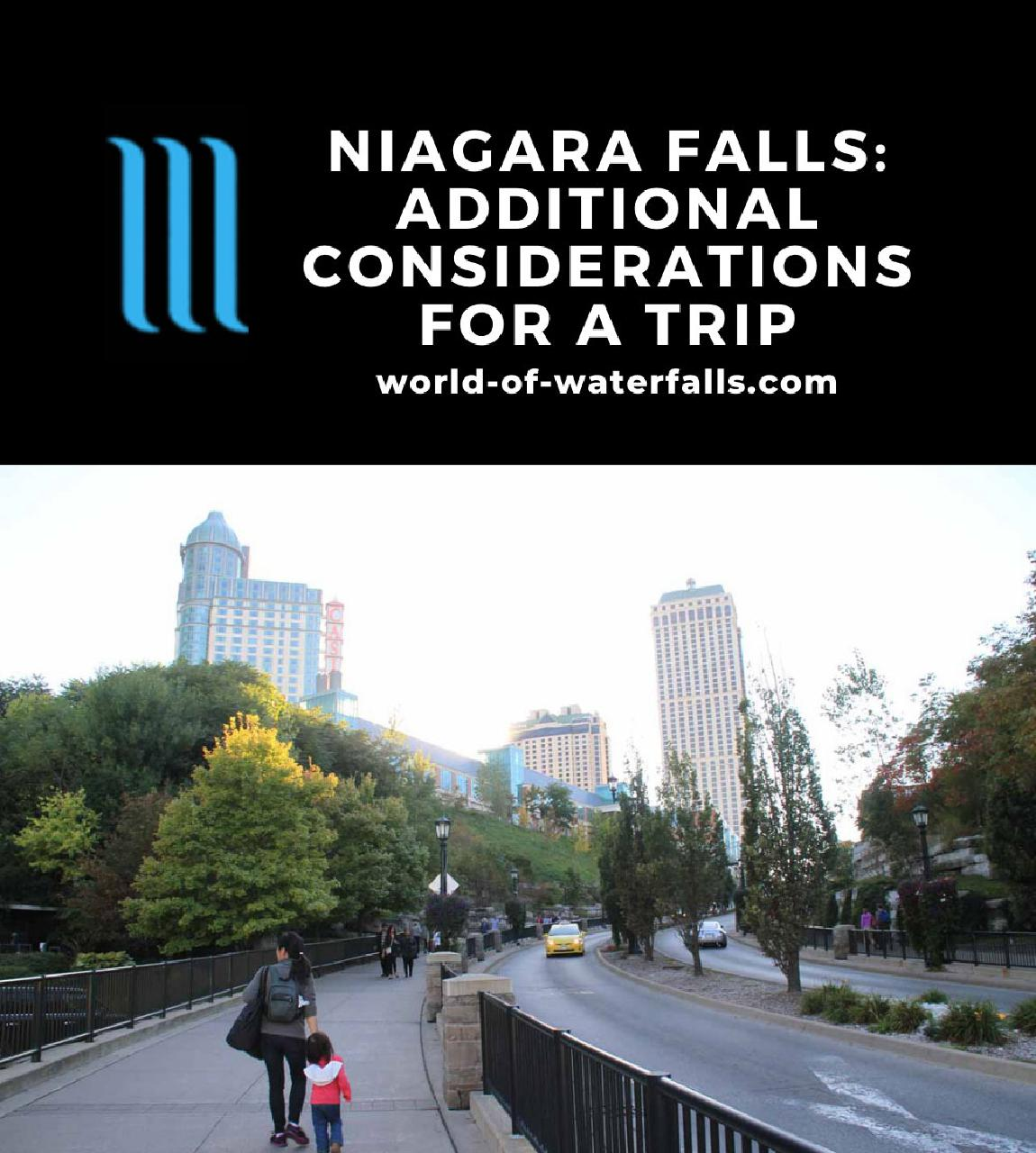 Niagara Falls: Additional Considerations for a Trip