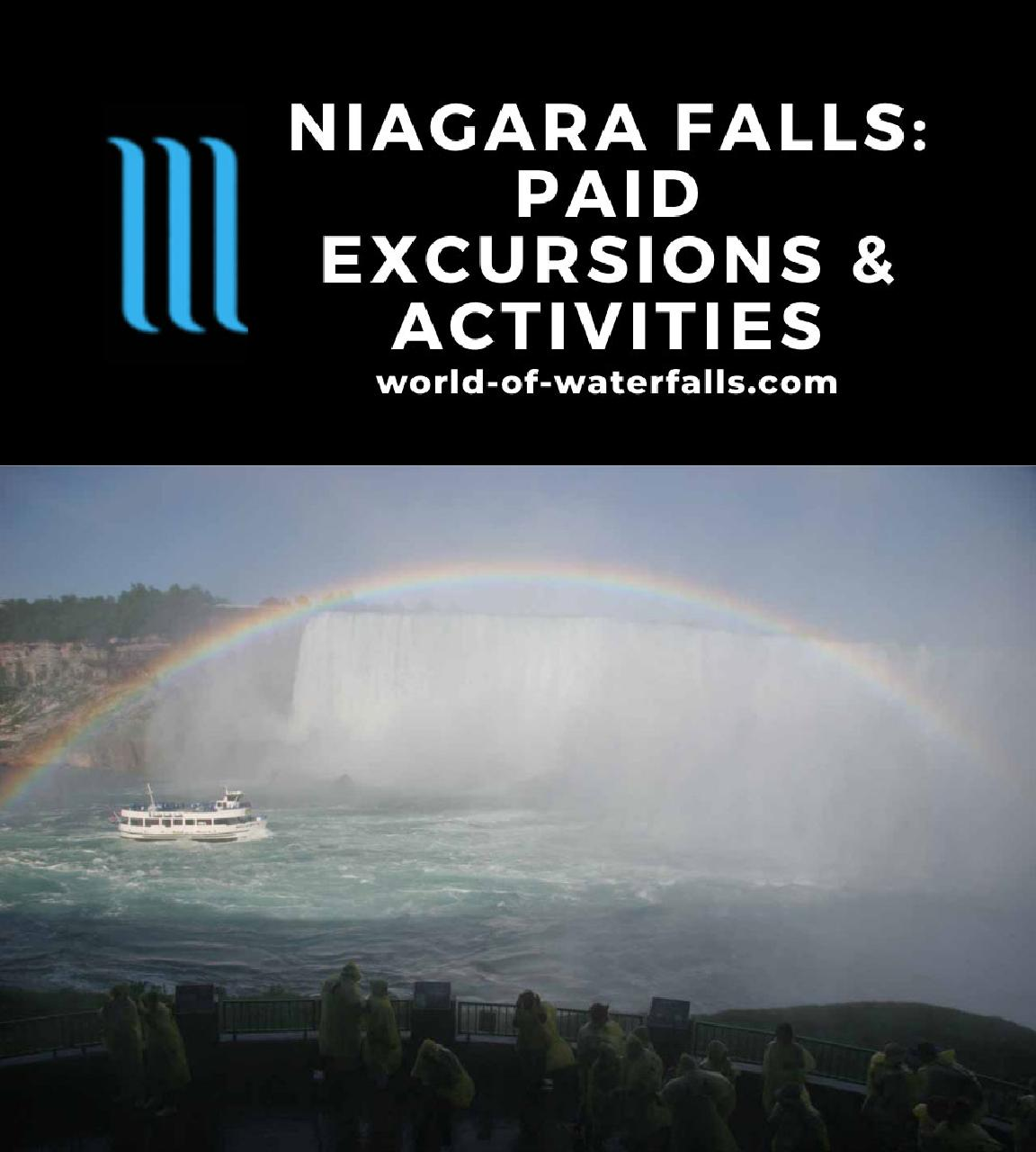 Niagara Falls: Paid Excursions and Activities