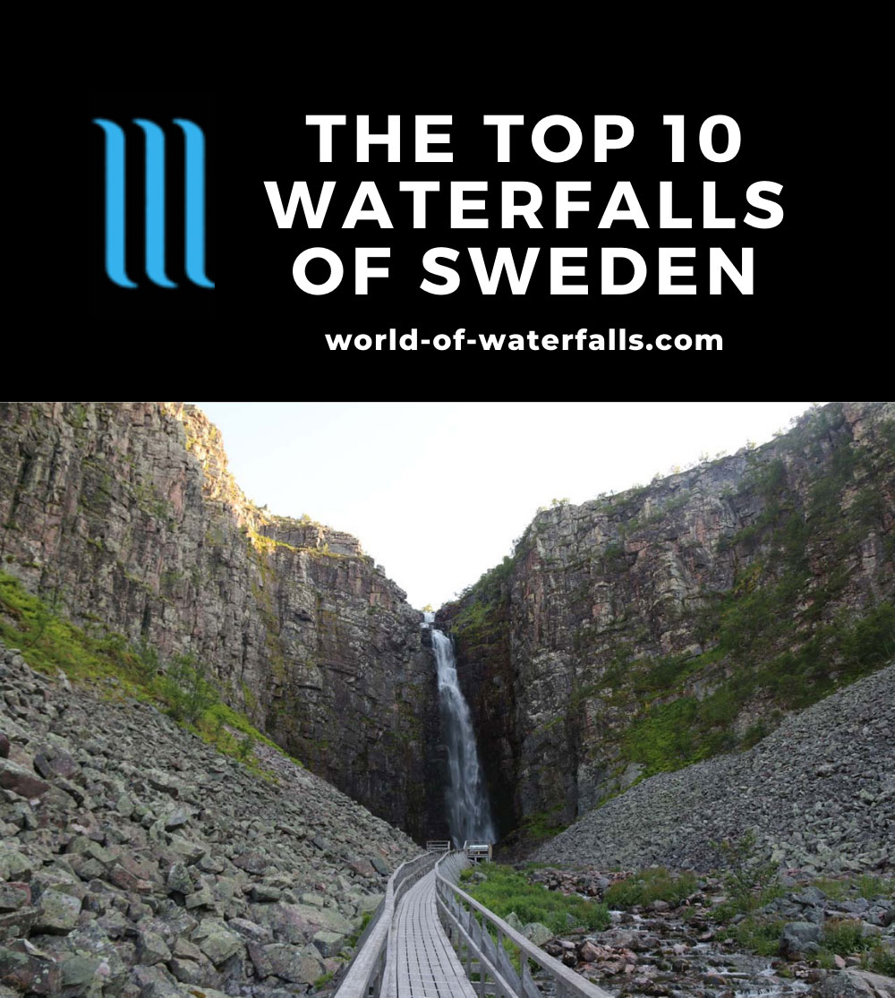 The Top 10 Waterfalls of Sweden