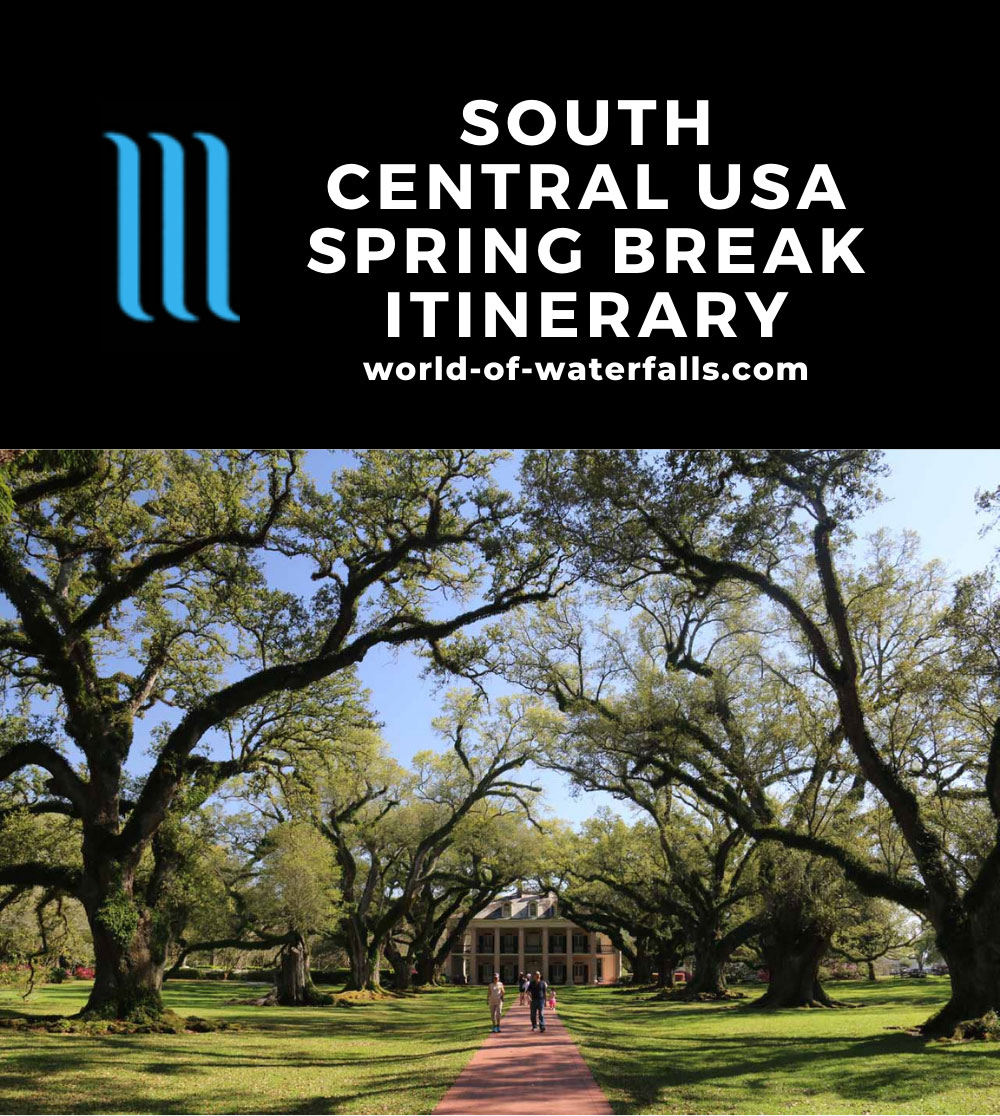 South Central USA Spring Break Itinerary