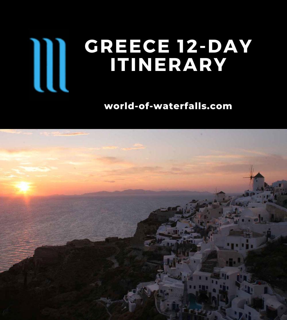 Greece 12-Day Itinerary