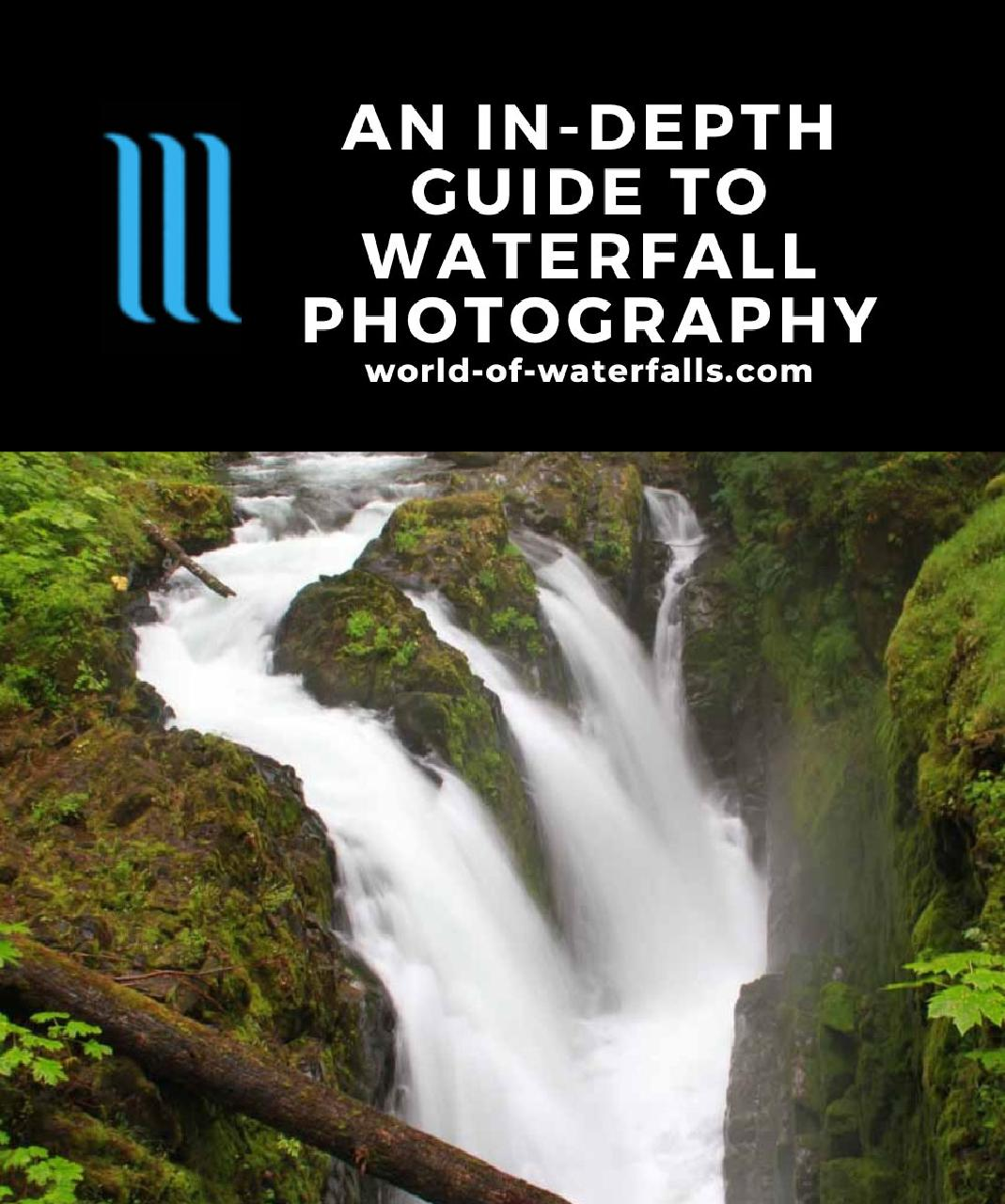 Employing waterfall photography at Sol Duc Falls, which was an ideal candiate for making it look silky while also bringing out the surrounding greens