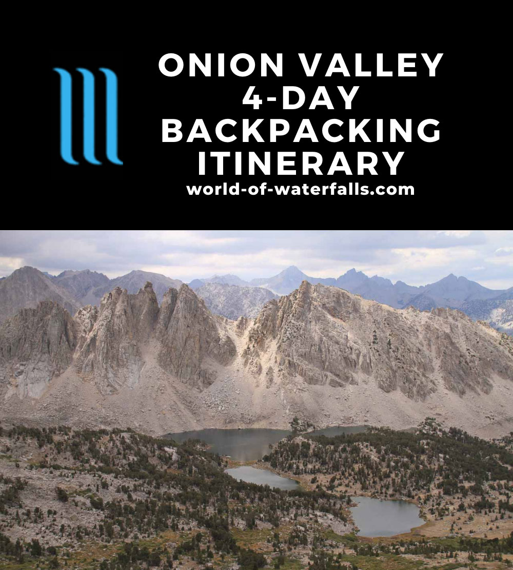Onion Valley 4-Day Backpacking Itinerary