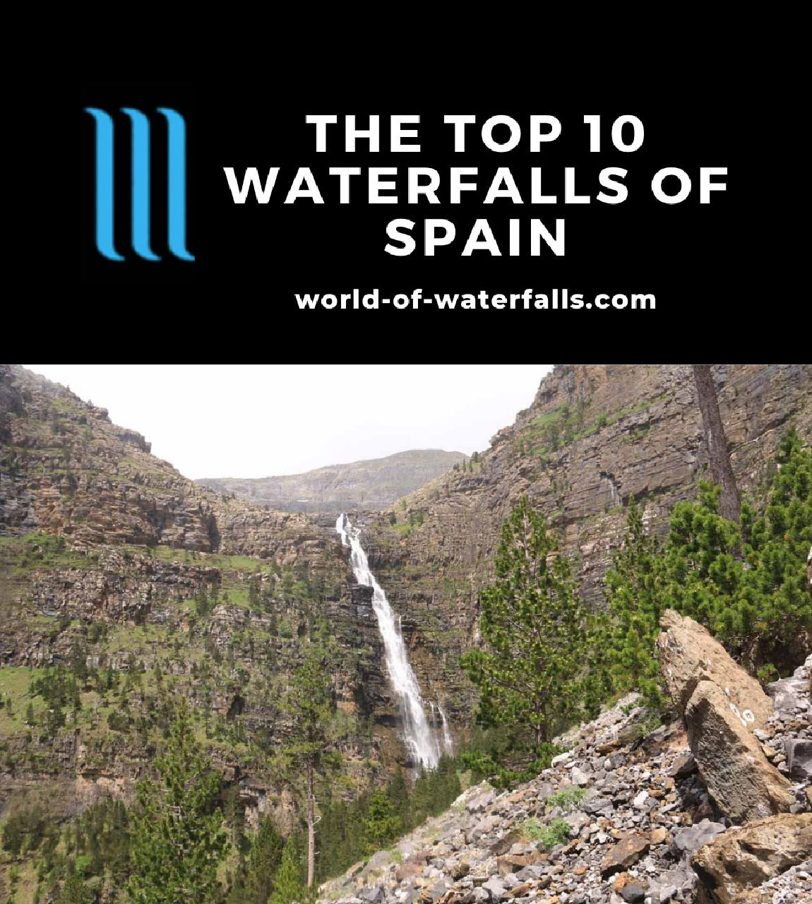 The Top 10 Waterfalls of Spain