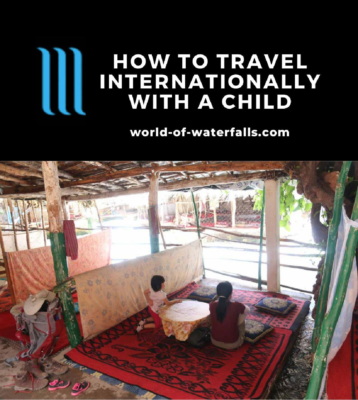 How to Travel Internationally with a Child