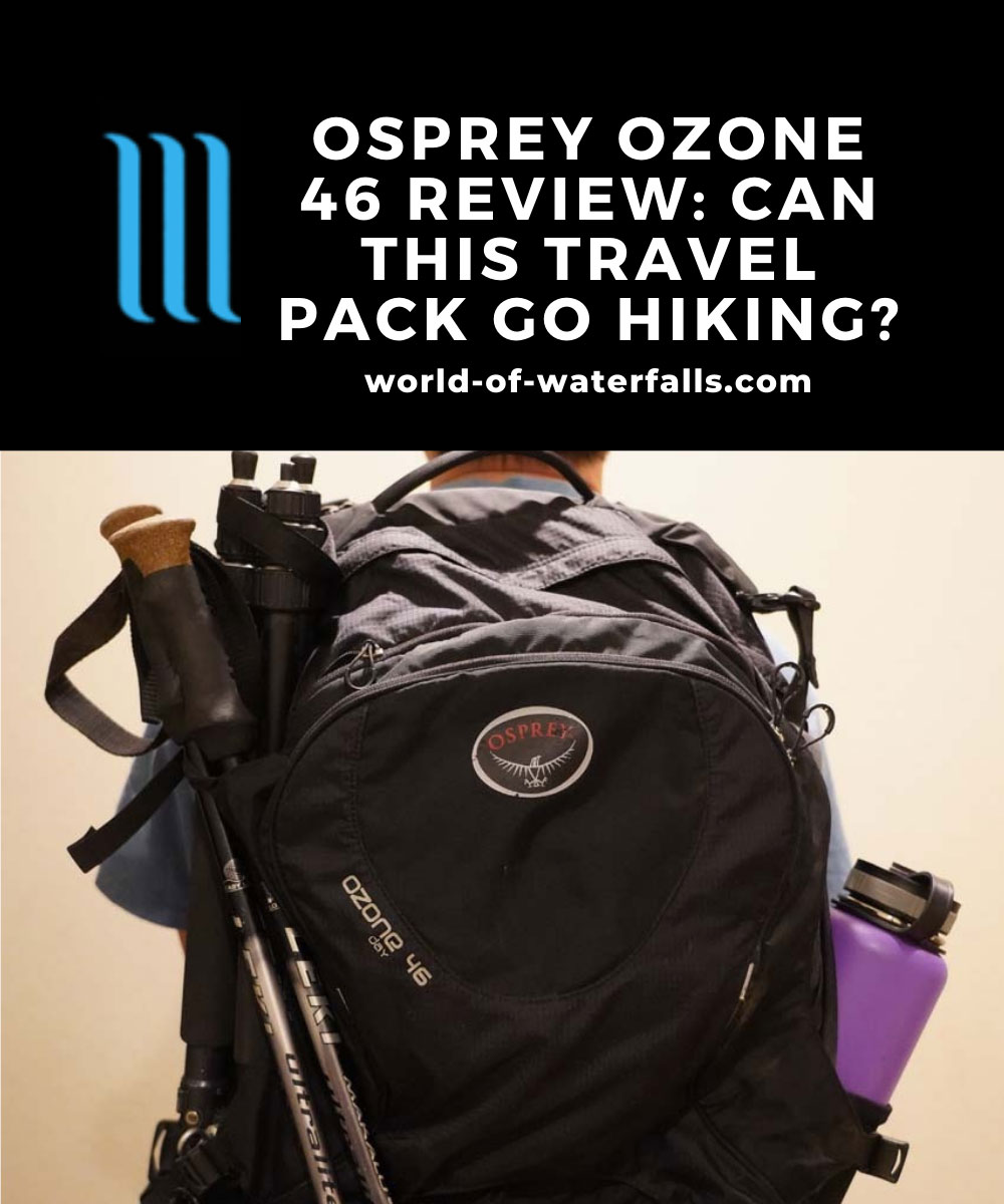 Osprey Ozone 46 Review: Can This Travel Pack Go Hiking?