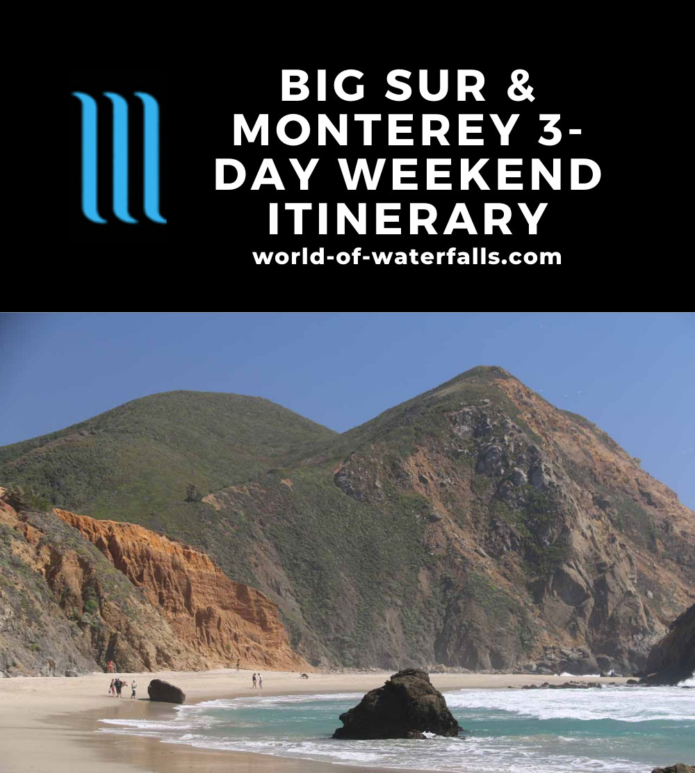 Big Sur and Monterey 3-Day Weekend Itinerary