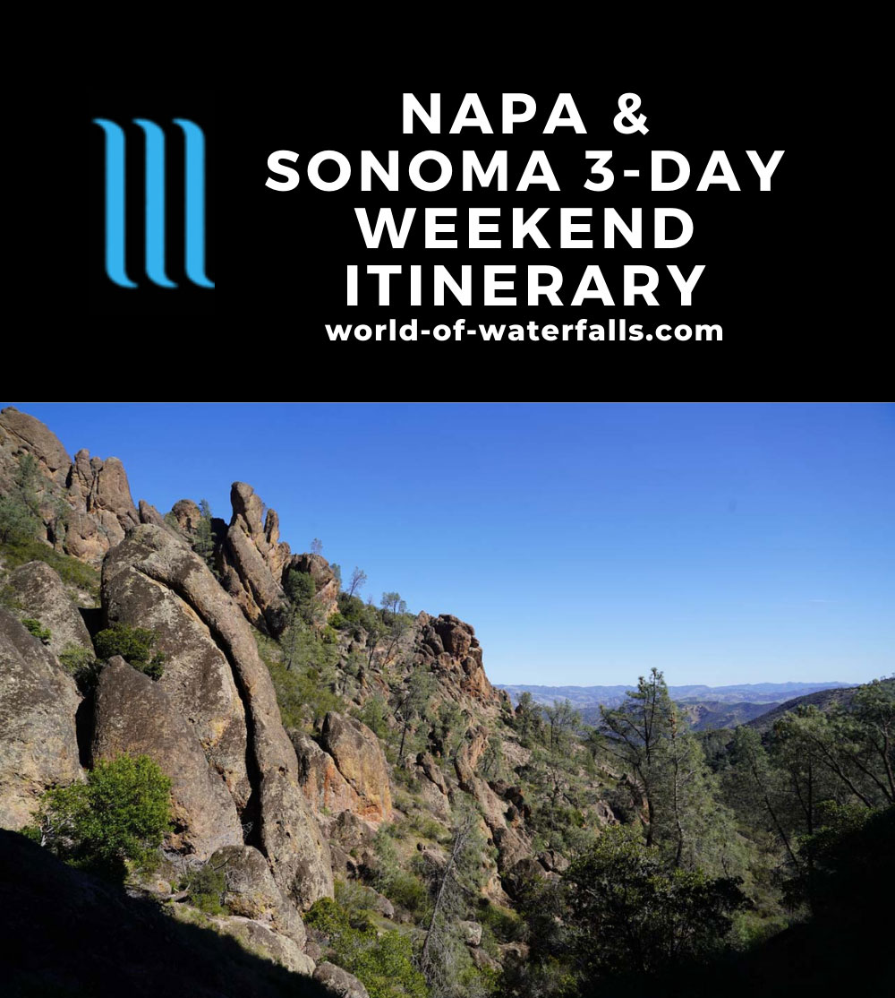 Napa and Sonoma 3-Day Weekend Itinerary