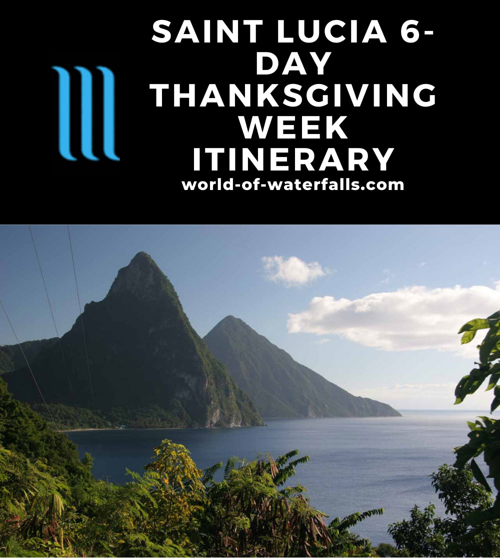 Saint Lucia 6-Day Thanksgiving Week Itinerary