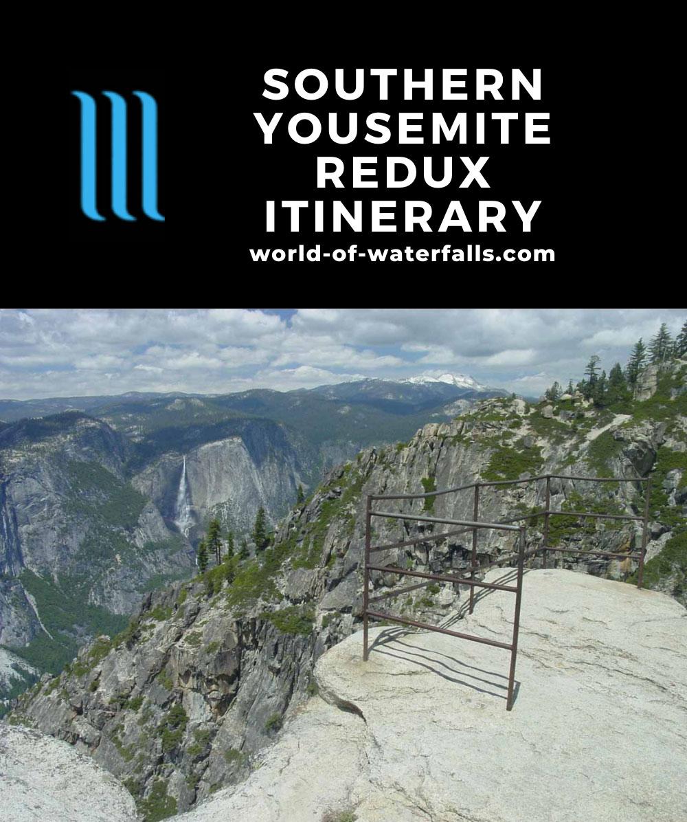 Southern Yosemite Redux Itinerary