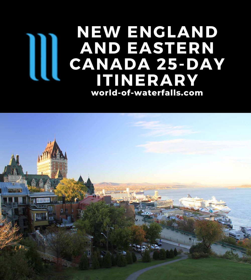 New England and Eastern Canada 25-Day Itinerary