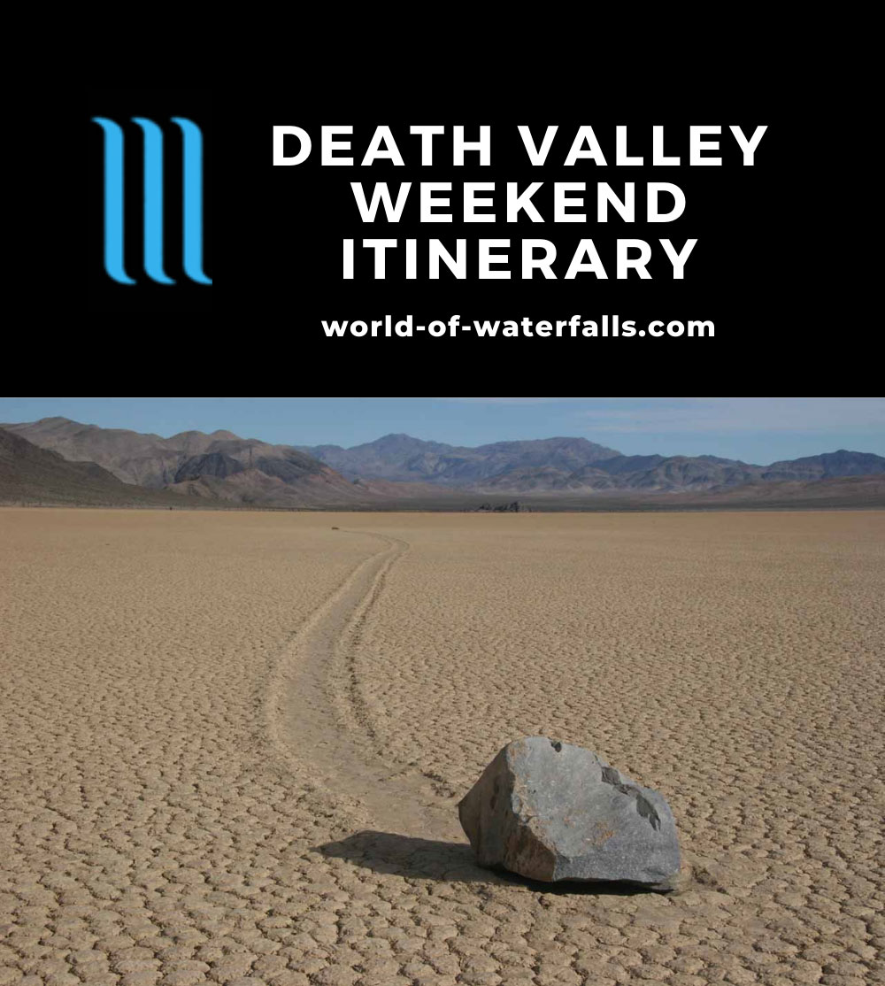 Death Valley Weekend Itinerary