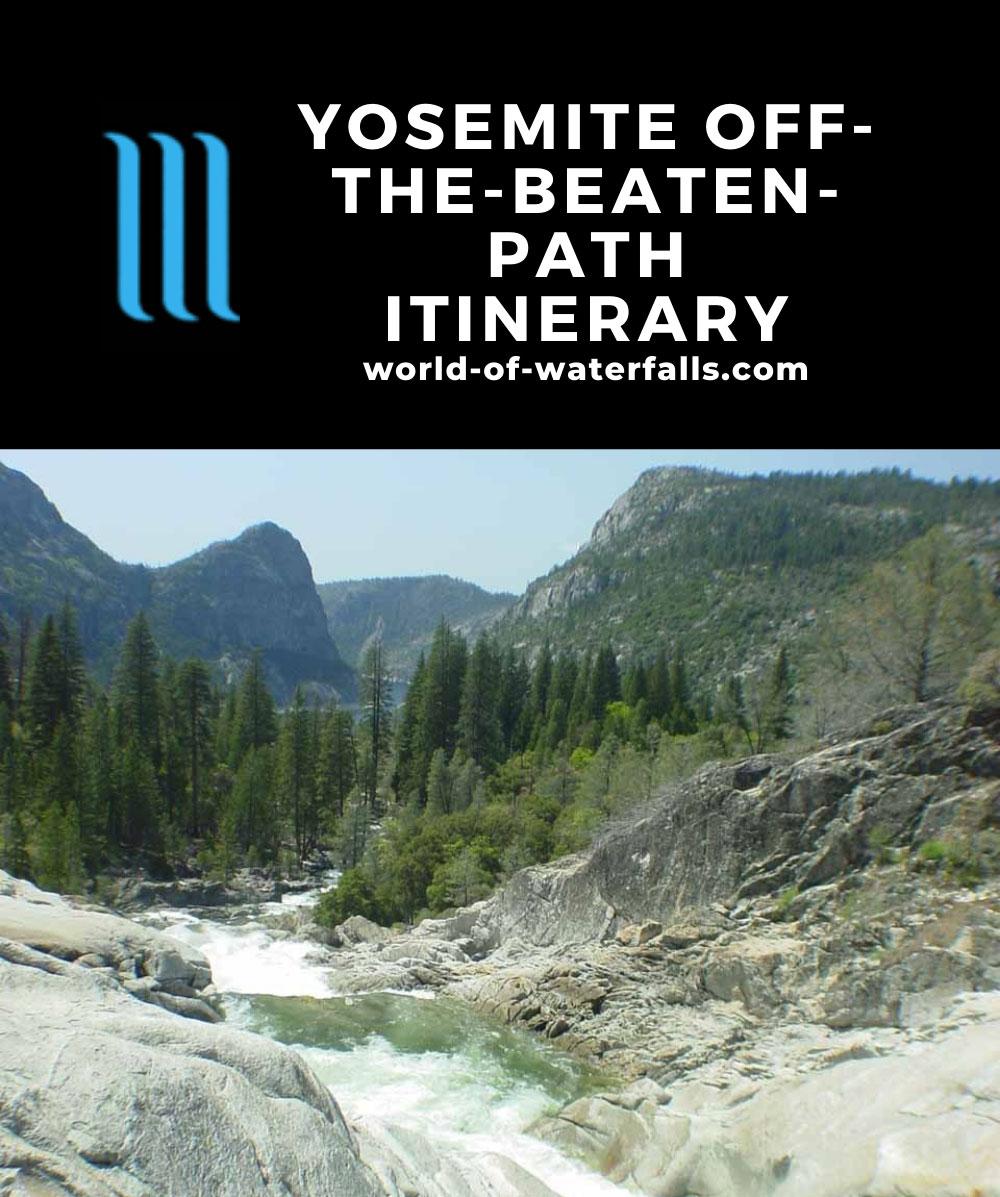 Yosemite Off-The-Beaten Path Itinerary