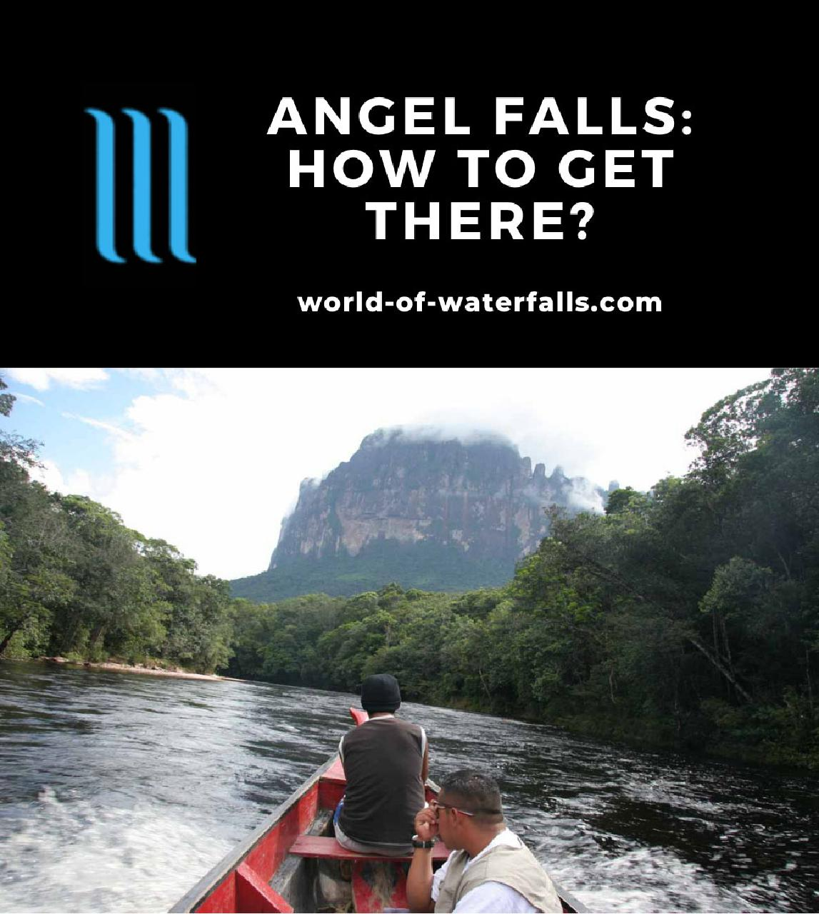 Angel Falls: How To Get There?
