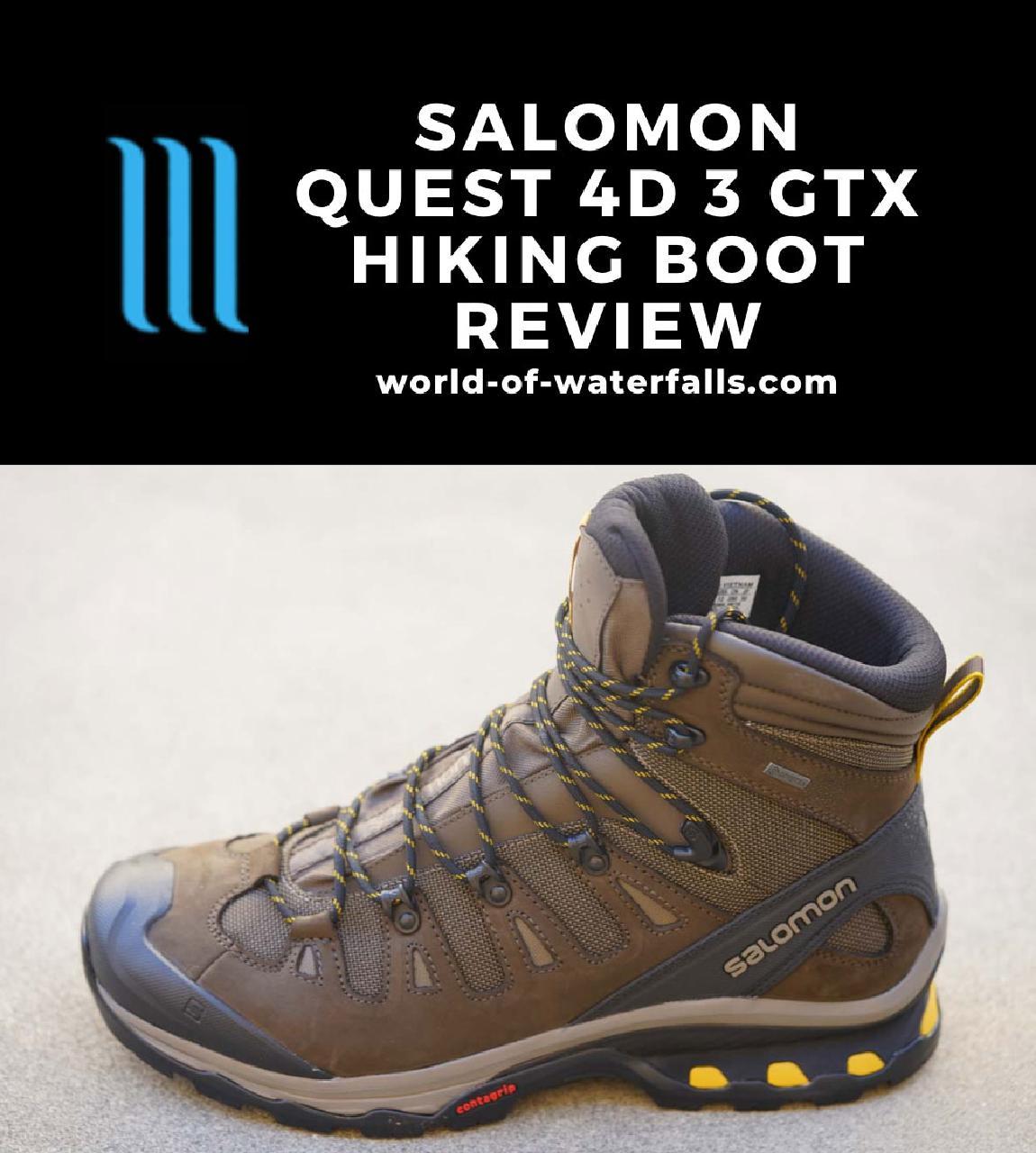My new Salomon Quest 4D GTX Hi-top Hiking Boot