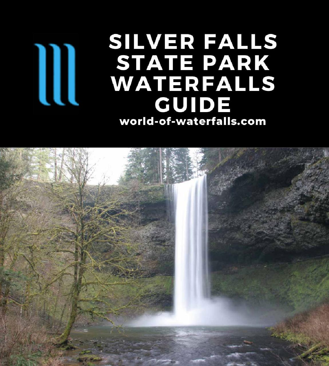 Silver Falls State Park Waterfalls Guide