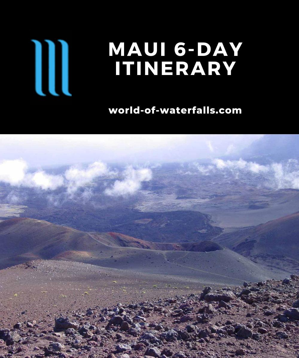 Maui 6-day Itinerary