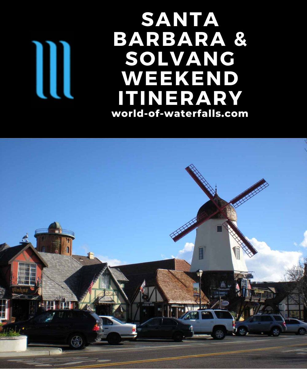 Santa Barbara and Solvang Weekend Itinerary