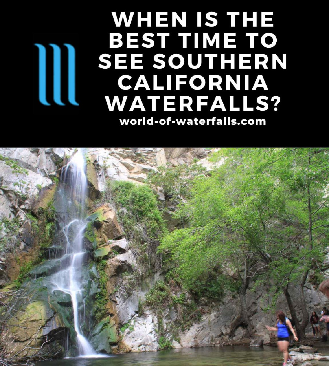 When is the Best Time to see Southern California Waterfalls?